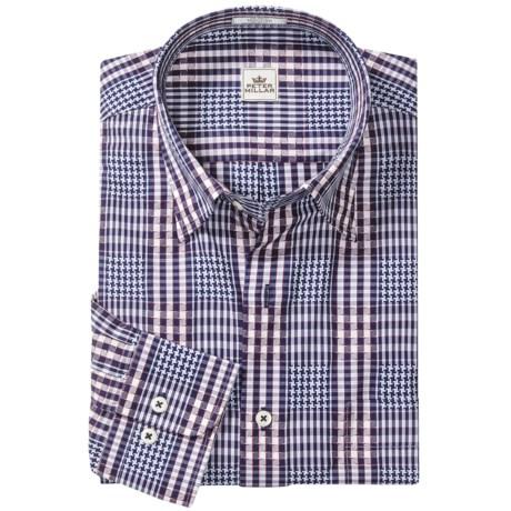 Peter Millar Bainbridge Fancy Shirt - Long Sleeve (For Men)