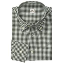 Peter Millar Melange Check Shirt - Long Sleeve (For Men)