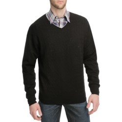 Peter Millar Tipped Cable-Knit Sweater - Merino Wool (For Men)
