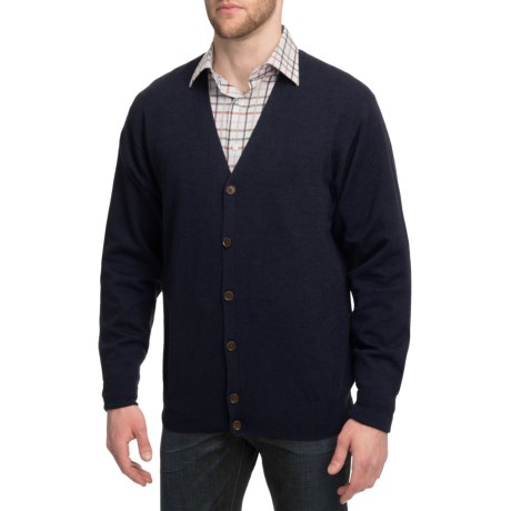 Peter Millar Merino Wool Cardigan Sweater (For Men)