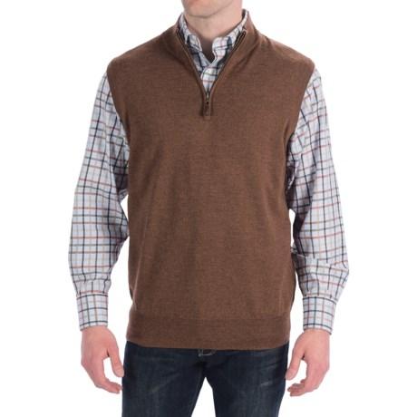 Great half zip sweater vest! - Review of Peter Millar Italian ...