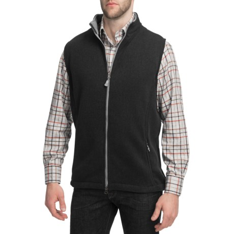 Peter Millar Melbourne Sweater Vest - Full Zip, Fleece (For Men)