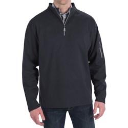 Peter Millar Whistler Wind Suede Pullover - Zip Neck, Long Sleeve (For Men)