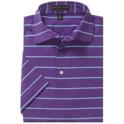 Peter Millar Summer Comfort Signature Stripe Polo Shirt - Short Sleeve (For Men)