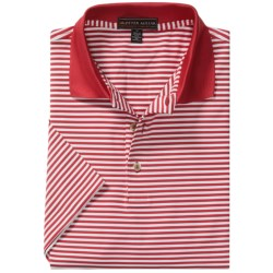 Peter Millar Competition Stripe Summer Comfort Polo Shirt - Stretch Jersey, Short Sleeve (For Men)