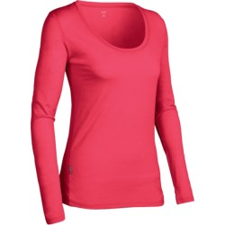Icebreaker SF150 Tech Shirt - Merino Wool, Scoop Neck, Long Sleeve (For Women)