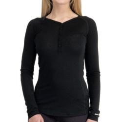 Icebreaker Bodyfit 200 Oasis Henley Base Layer Top - UPF 50+, Merino Wool, Long Sleeve (For Women)