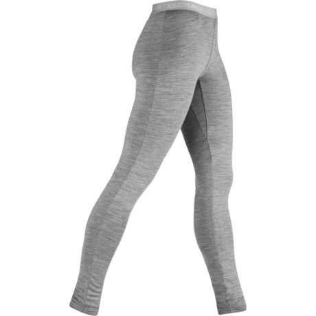 Icebreaker Bodyfit 260 Base Layer Leggings - UPF 50+, Merino Wool (For Women)