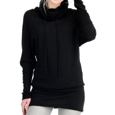 Icebreaker Athena Funnel Neck Shirt - Merino Wool, Long Sleeve (For Women)