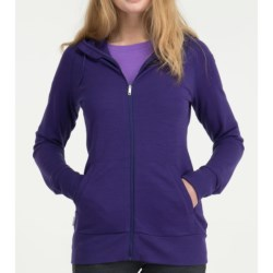 Icebreaker City 260 Crush Hoodie Sweatshirt - Merino Wool, UPF 50+ (For Women)