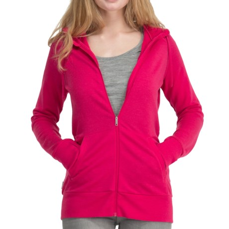 Icebreaker City 260 Crush Hoodie Sweatshirt - Merino Wool, UPF 50+ (For Women)