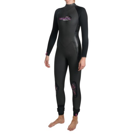Camaro Prime Surfing Overall Wetsuit - 4/3/2mm (For Women)