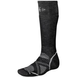 SmartWool PhD Snowboard Socks - Merino Wool, Midweight, Over-the-Calf (For Men and Women)