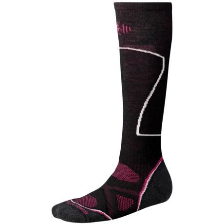 SmartWool PhD Ski Socks - Merino Wool, Over-the-Calf (For Women)