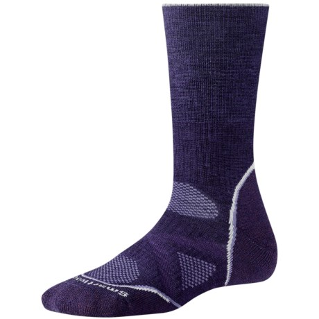SmartWool PhD Outdoor Medium Crew Socks - Merino Wool, Midweight (For Women)