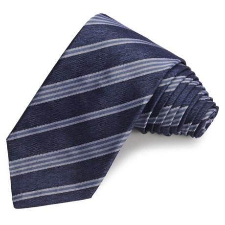 John Varvatos Star USA Spring Melange Stripe Narrow Tie (For Men)