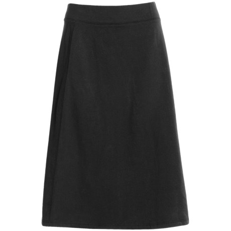 French Terry Skirt - Stretch (For Women)