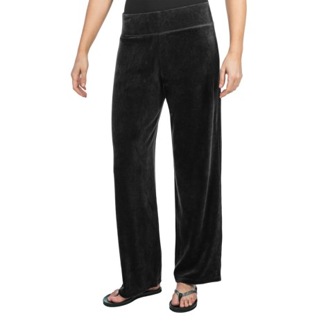 Velour Track Pants (For Women)