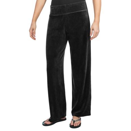 Velour Track Pants (For Women)