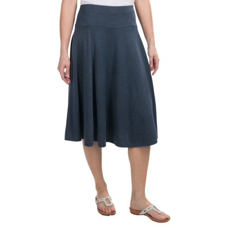 Stretch Jersey Skirt (For Women)
