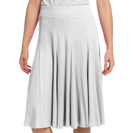 Gored Knit Skirt - Pull-On (For Women)