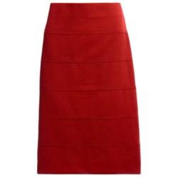 Banded Pencil Skirt (For Women)