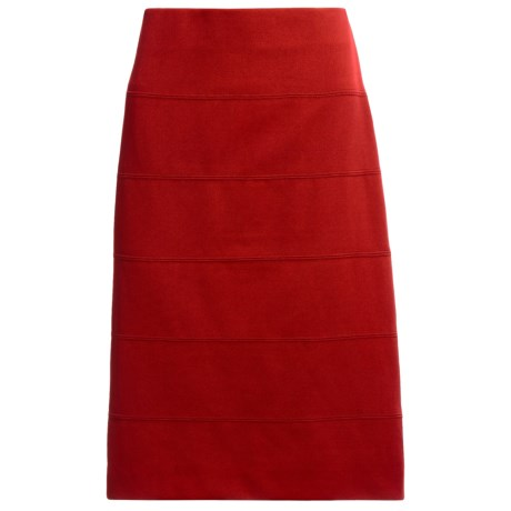 Banded Pencil Skirt (For Women)