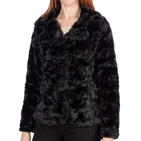 Dylan Faux-Fur Jacket - Shawl Collar (For Women)