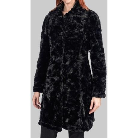 Dylan by True Grit Faux-Fur Long Coat (For Women)