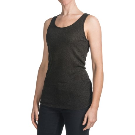 Dylan by True Grit Waffle-Knit Layering Tank Top - Lurex® (For Women)