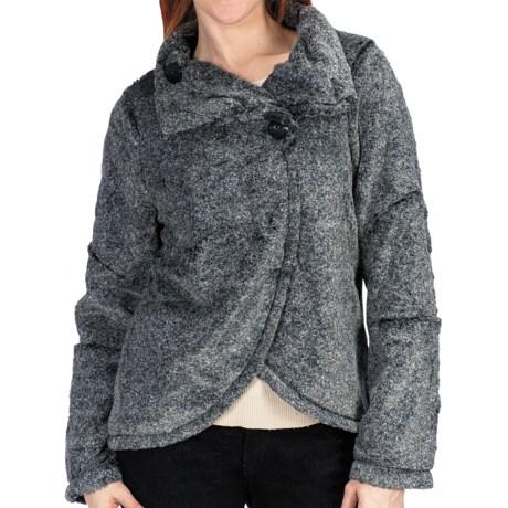True Grit Vintage Silky Wrap Jacket (For Women)