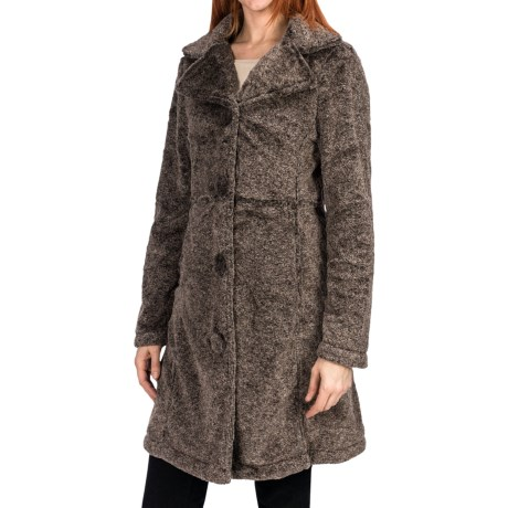 True Grit Vintage Long Coat (For Women)