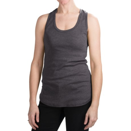 Dylan Heathered Tank Top - Racerback (For Women)