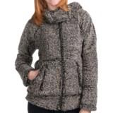 Dylan by True Grit Modern Zip Hooded Jacket (For Women)