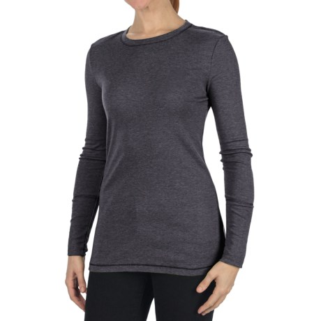 dylan Dylan by True Grit Long & Lean T-Shirt - Heathered Rib, Long Sleeve (For Women)