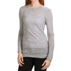 Dylan by True Grit Twinkle Heather T-Shirt - Long Sleeve (For Women)
