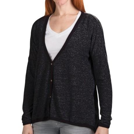 dylan Vintage Cardigan Sweater - Sparkle Knit (For Women)