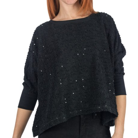 Dylan by True Grit Nubby Boucle Sweater - 3/4 Sleeve (For Women)