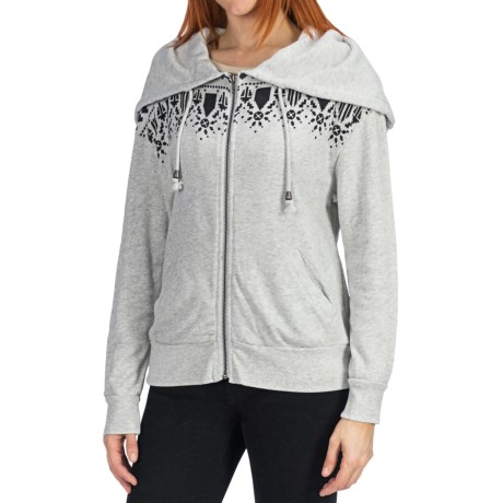 dylan Fair Isle Hoodie - French Terry Cotton (For Women)