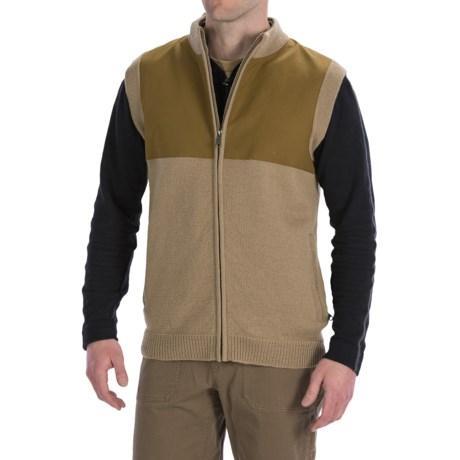 Filson Guide Sweater Vest - Wool, Full Zip (For Men)