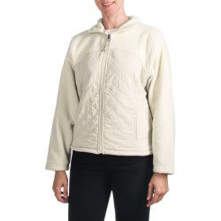 Pacific Teaze High Fever Quilted Fleece Jacket - Fleece Lining (For Women)