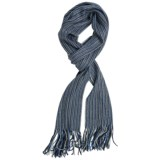 Auclair Chevron Knit Scarf (For Men and Women)