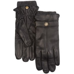 Auclair 2-in-1 Leather Gloves - Shetland Wool Liner (For Men)
