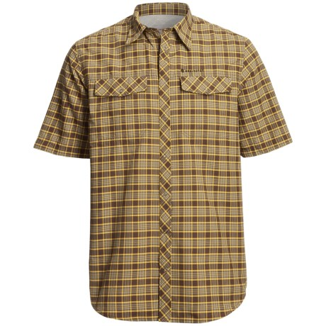 Redington Grizzly Plaid Shirt - UPF 50+, Short Sleeve (For Men)