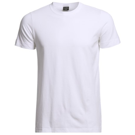 Luk Cotton T-Shirts - 2-Pack, Short Sleeve (For Men)