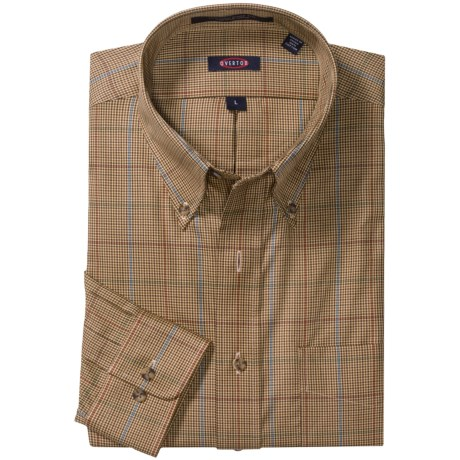 Overton Road Warrior Check Sport Shirt - Wrinkle-Free, Long Sleeve (For Men)