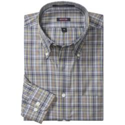 Overton Wrinkle-Free Cotton Tattersall Sport Shirt - Long Sleeve (For Men)