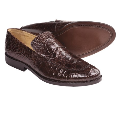 Peter Millar Milano Crocodile Dress Loafer Shoes (For Men)
