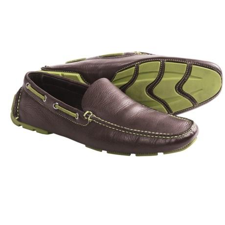 Peter Millar Charleston-Trimmed Venetian Driving Moccasins - Leather (For Men)