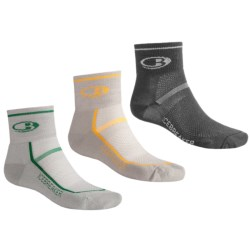 Icebreaker Mini Sport Sock Grab Bag - Set of 3, Merino Wool, Medium Cushion (For Men)